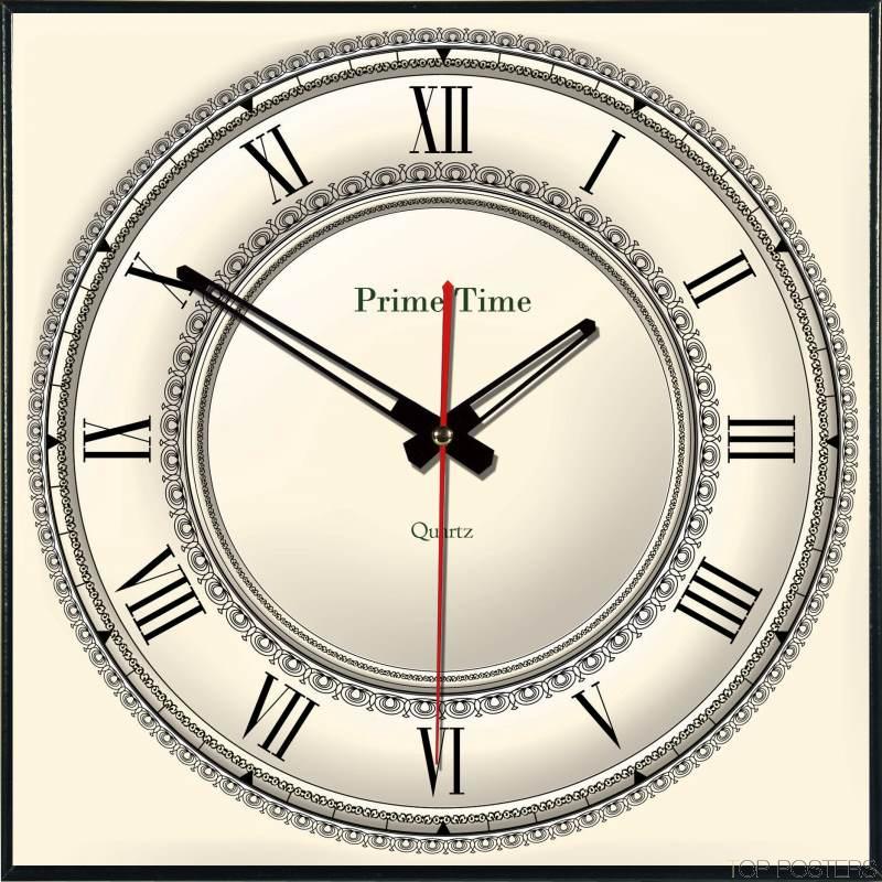 Как сделать декоративные часы